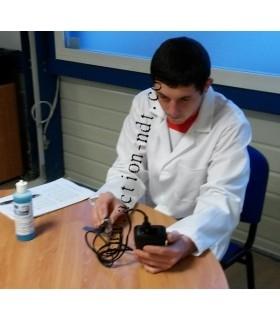 Vérification d'un mesureur d'épaisseurs à  ultrasons