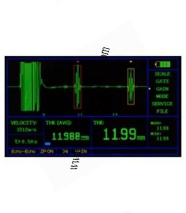 Mesureur d'Epaisseurs à Ultrasons EMAT