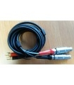 Cable Double Lemo1 vers Microdot