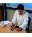 Vérification d'un mesureur d'épaisseurs à ultrasons suivant l' EN 15317