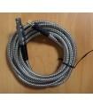 Câble Lemo1 / Microdot gainé Inox
