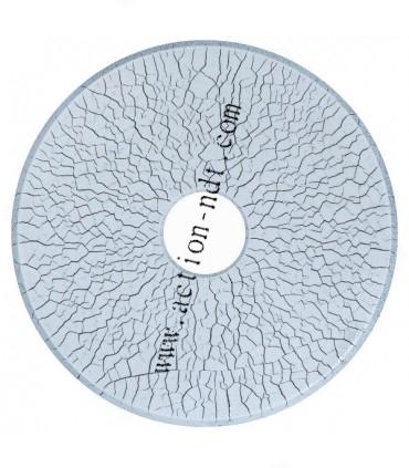 MR 76S - Bidon liqueur magnétique noire magnétoscopie MR CHEMIE