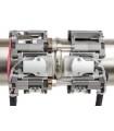 Scanners double pour l'inspection de petits tubes par Ultrasons