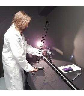 Vérification d'un combiné Luxmètre et Radiomètre UV suivant l'EN3059