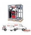 Rack Crawler d'inspection visuelle RICO CROSS PORTER LIGHT pour véhicule