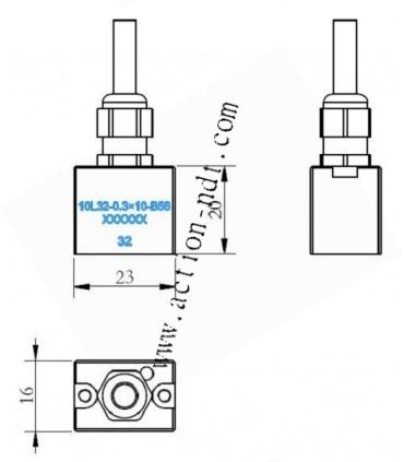 Palpeur PA boîtier B56