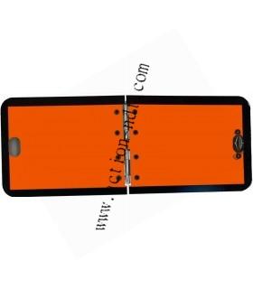 Panneau Orange Pliant