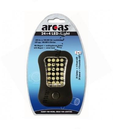 Lampe de travail magnetique 24+4 LED