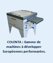 COLENTA : Gamme de machines à développer Européennes performantes.