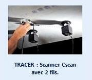 TRACER : Scanner Cscan avec 2 fils.