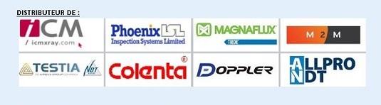 Nos Marques : ICM / PHOENIX ISL / MAGNAFLUX / TIEDE / M2M / TESTIA / COLENTA / DOPPLER / ALLPRO / etc...