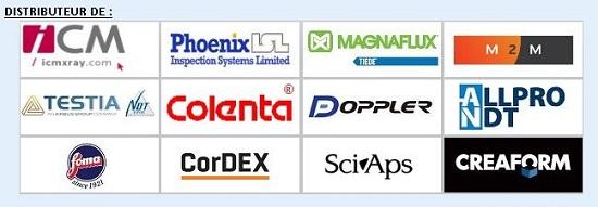Nos Marques : ICM / PHOENIX ISL / MAGNAFLUX / TIEDE / M2M / TESTIA / COLENTA / DOPPLER / ALLPRO / CREAFORM / etc...