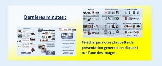 Dernières minutes : Télécharger notre plaquette de présentation générale en cliquant sur l'une des images